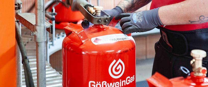 Gosswein Gas Flaschengas Produktbeschreibungen